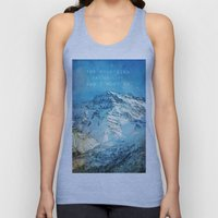 Adventure. The Mountains… Unisex Tank Top