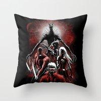 Legendary Guardians Throw Pillow