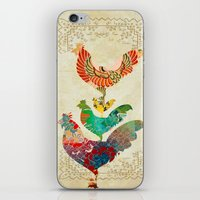 Chinese Lunar New Year and 12 animals  ❤  The ROOSTER 雞 iPhone & iPod Skin