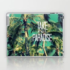 TAKE ME BACK TO PARADISE II  Laptop & iPad Skin