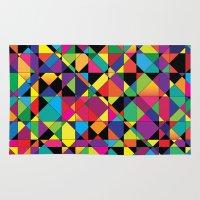 Abstract Shapes Rug