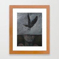 Loss Framed Art Print
