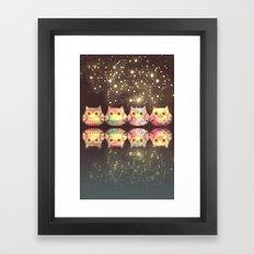 owl-864 Framed Art Print