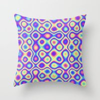 Pattern 60's like Throw Pillow