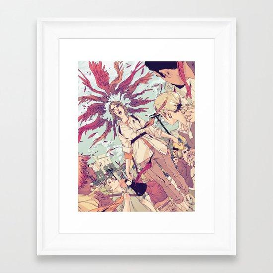 The Activist Framed Art Print