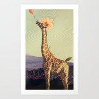 don't let go Art Print