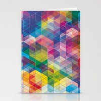Cuben Curved #7 Stationery Cards