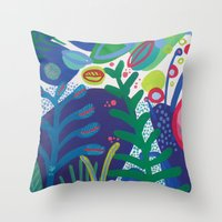 Secret garden III Throw Pillow