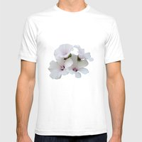 Beautiful summerflowers Mens Fitted Tee White SMALL