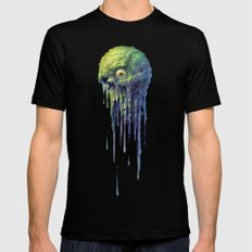 Slime Ball Mens Fitted Tee SMALL Black