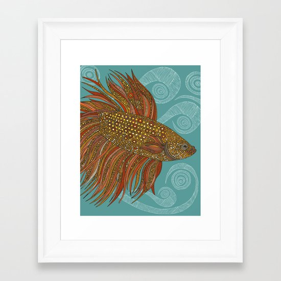 I know where I'm going Framed Art Print