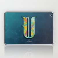 U is for Unique Laptop & iPad Skin