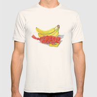 Fresh Produce Mens Fitted Tee Natural SMALL