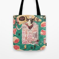 'Cows Are REALLY Meaty!' Tote Bag