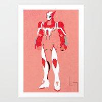 Barnaby Brooks Jr. (Bunny) Art Print