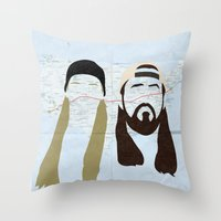 Jay and Silent Bob Strike Back Throw Pillow