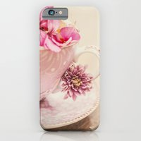 Flower storm in a teacup iPhone 6 Slim Case