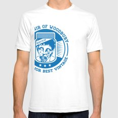 Walking dead - Souvenir of Woodbury Mens Fitted Tee SMALL White