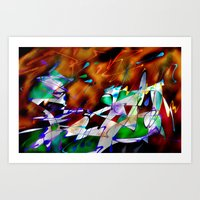 Abstract Inc. Art Print