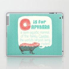 C is for Capybara Laptop & iPad Skin