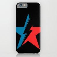 Bowie Star black iPhone 6 Slim Case