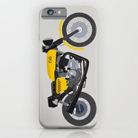 iPhone & iPod Case featuring Cafe Bike by Josh Kirk