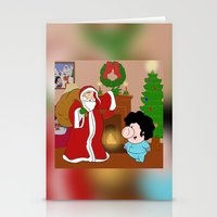 Santa Claus Came To Town… Stationery Cards