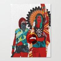 Native Love  Canvas Print