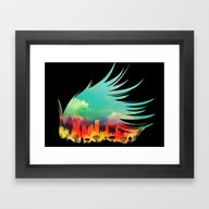 In Flying Colours Framed Art Print