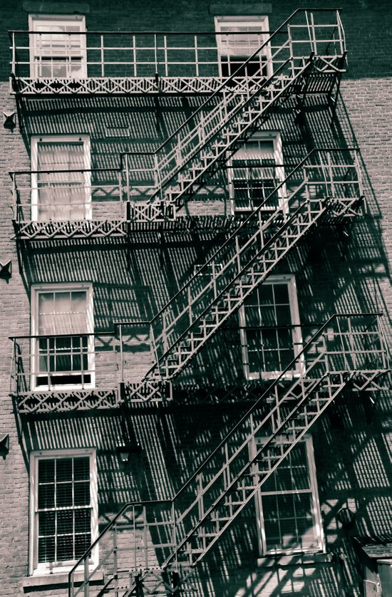 Ladders Galore Art Print