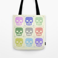 quilt of grrr (born to die). Tote Bag