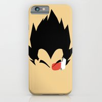 Saiyan Prince (Vegeta) iPhone 6 Slim Case