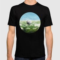 Adagio Pour Cordes Mens Fitted Tee Black SMALL