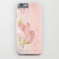 pink magnolia iPhone 6s Slim Case
