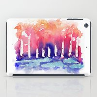 Abstract Forest iPad Case
