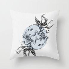 Cosmic Dancer Throw Pillow