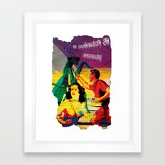 Lost Cover Framed Art Print