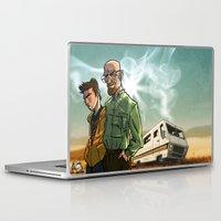 breaking bad Laptop & iPad Skins featuring Breaking Bad by Adrien ADN Noterdaem