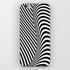 Black and White Pop Art iPhone & iPod Skin