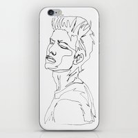minimal drawing  iPhone & iPod Skin