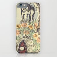 Wolf in the Woods iPhone 6 Slim Case