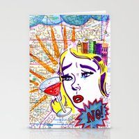 Just say no! Stationery Cards
