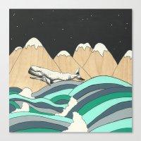 Over The Ocean Canvas Print