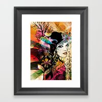 Colorful Nature Framed Art Print