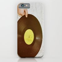 iPhone & iPod Case featuring Waiting Her Turn (analog zine) by SilverSatellite