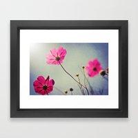 I Am Here For You Framed Art Print