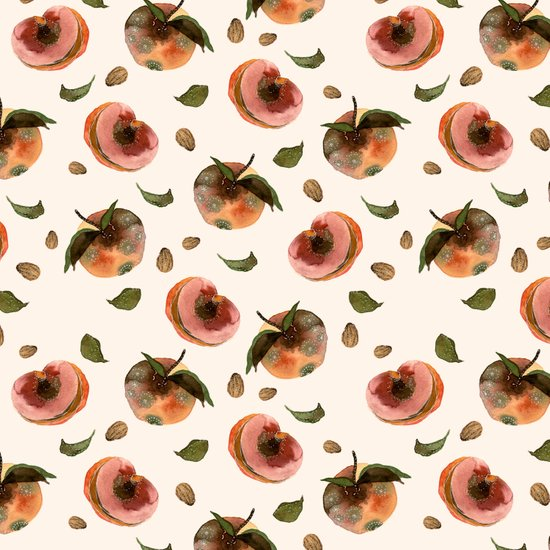 moldy peaches Art Print