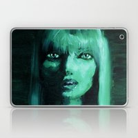 THE GREEN QUICK PORTRAIT Laptop & iPad Skin