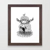 Hermit Framed Art Print