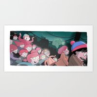 Night Of The Living Ging… Art Print